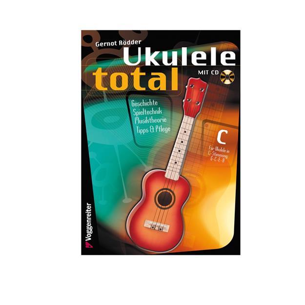 Voggenreiter Ukulele Total C-Stimmung mit CD