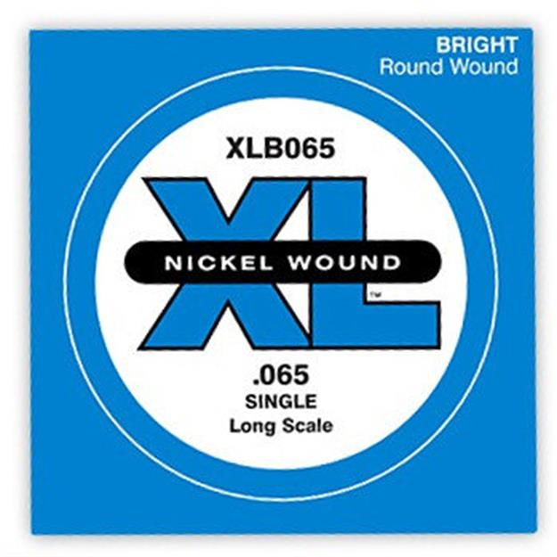 D'addario Einzelsaite Bass .065, Long Scale