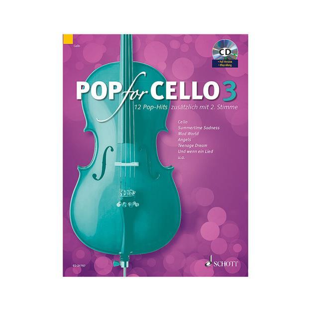 Schott Verlag Pop For Cello Band 3 mit CD