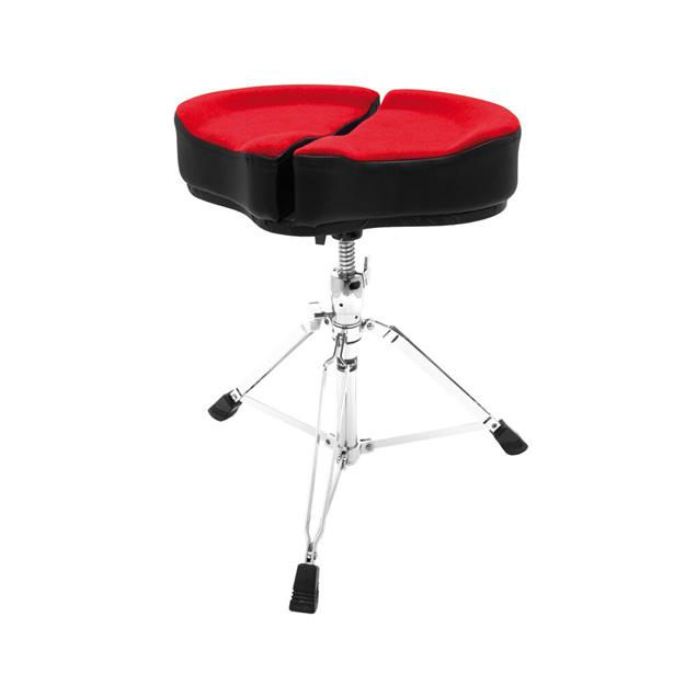 Ahead Red Spinal Glide Drum Throne