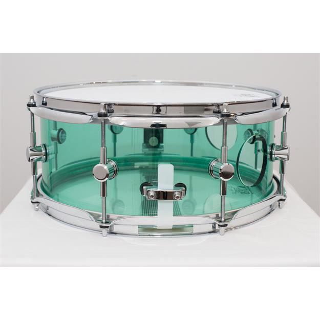 "SPAUN AC5513SCV-CB -Vented Acrylic Snare 13""x 5 1/2"""