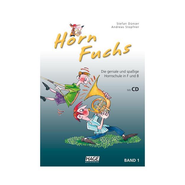 Hage Musikverlag Horn Fuchs Band 1 mit CD (F und B)