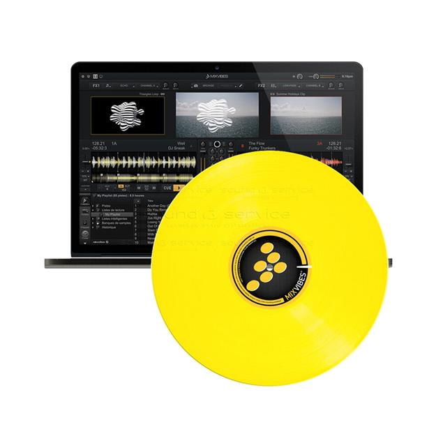 MIXVIBES Cross DVS Yellow
