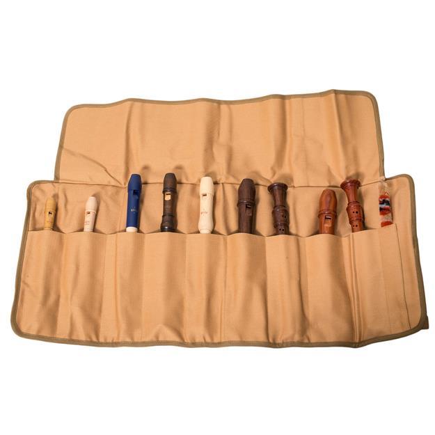 Moeck Z1003 Rolltasche für 3-5 Blockflöten