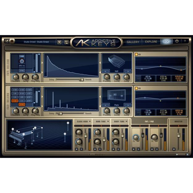 XLN-Audio Addictive Keys Duo Bundle