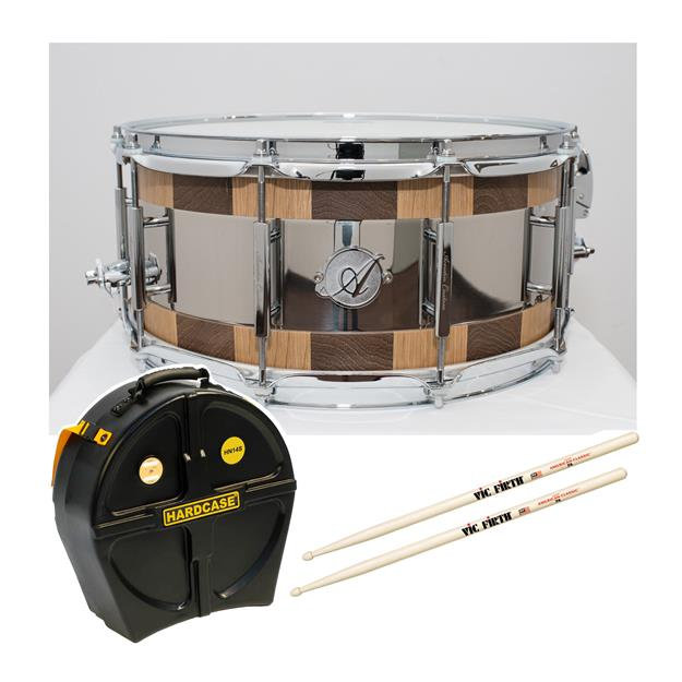 "Acoutin Custom Leonova Solid Stave 14"" x 6"" Snare"