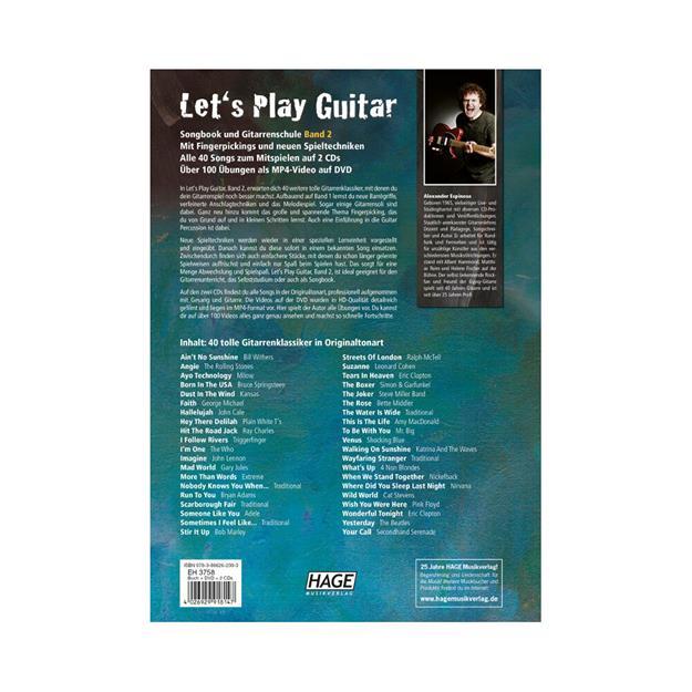 Hage Musikverlag Lets Play Guitar Band 2