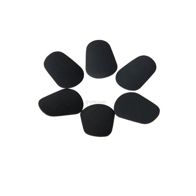 Kölbl Bißplättchen groß schwarz 0,8 mm