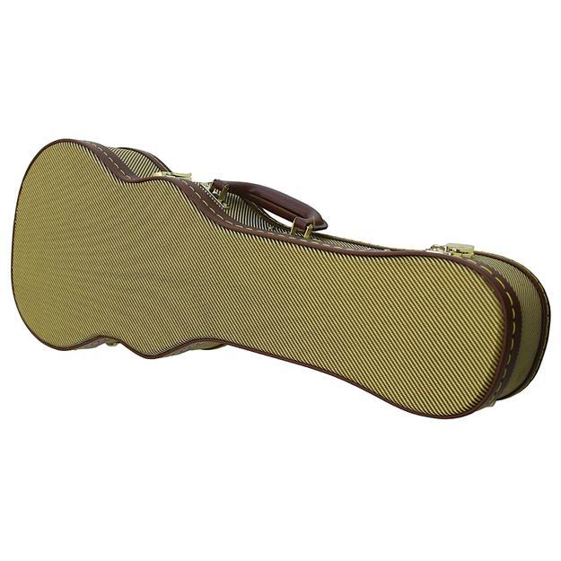 Justin Konzertukulele, Vintage Gold, Tweed