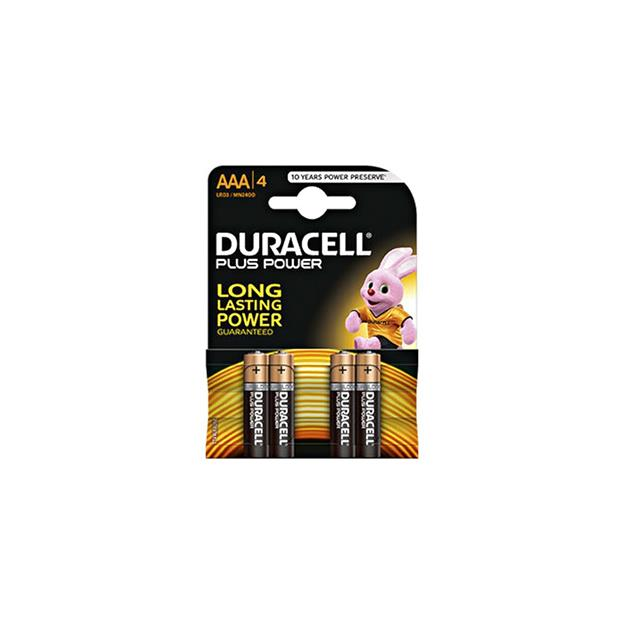 Duracell Plus Power MN2400 AAA