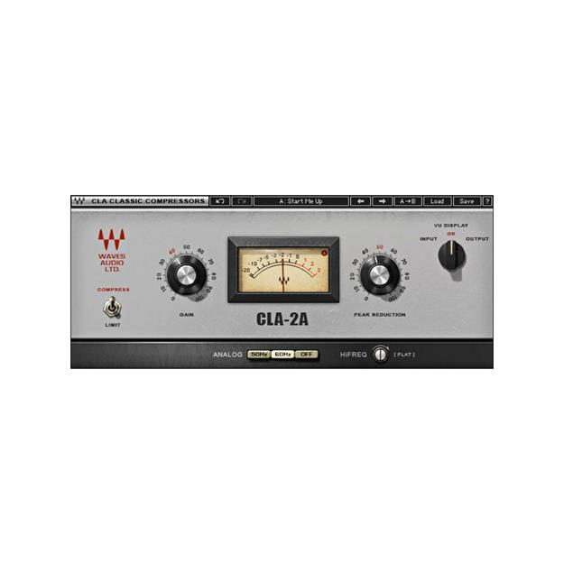 Waves CLA-2A Compressor/ Limiter