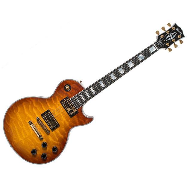 Gibson Les Paul Custom Quilt, Honey Burst