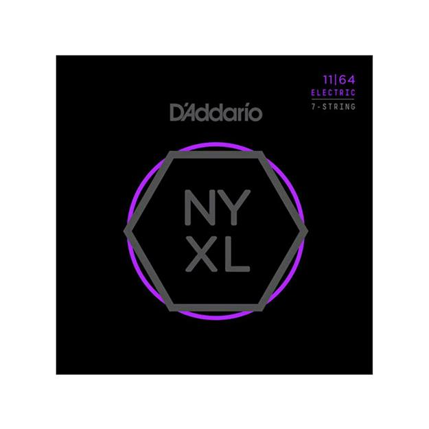 D'addario NYXL1164 Medium 7-String