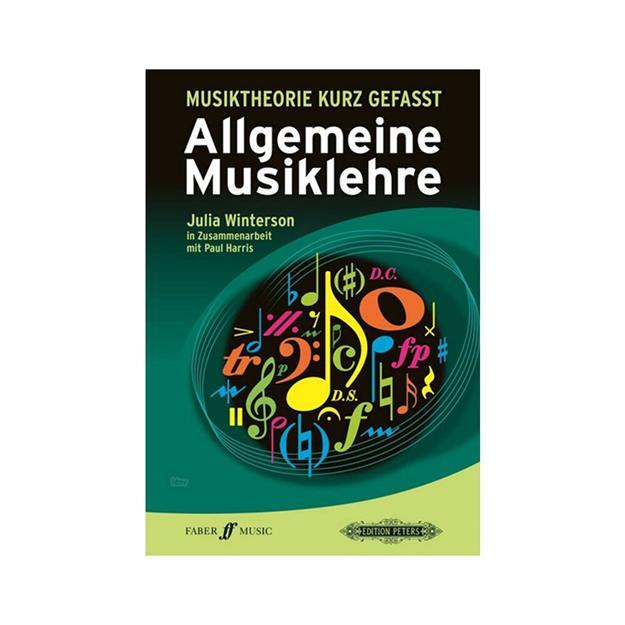 Peters Verlag Musiktheorie kurzgefasst