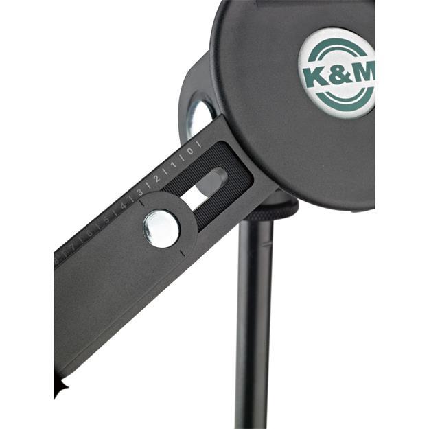 K + M König & Meyer 19790 Tablet PC Stativhalter schwwarz