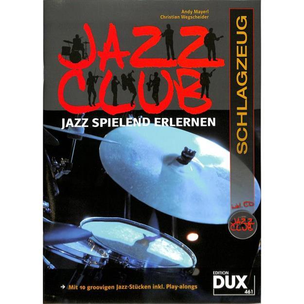 DUX Jazz Club mit 2 CDs für Schlagzeug