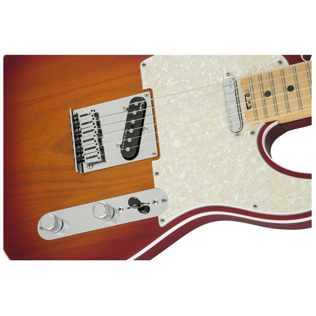 Fender American Elite Telecaster, MN Aged Cherry Burst