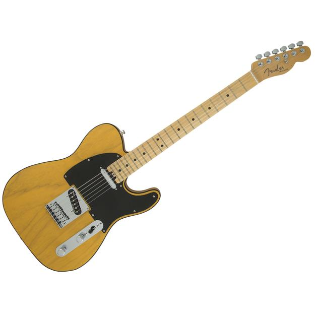 Fender American Elite Telecaster, MN Butterscotch Blonde (Ash)