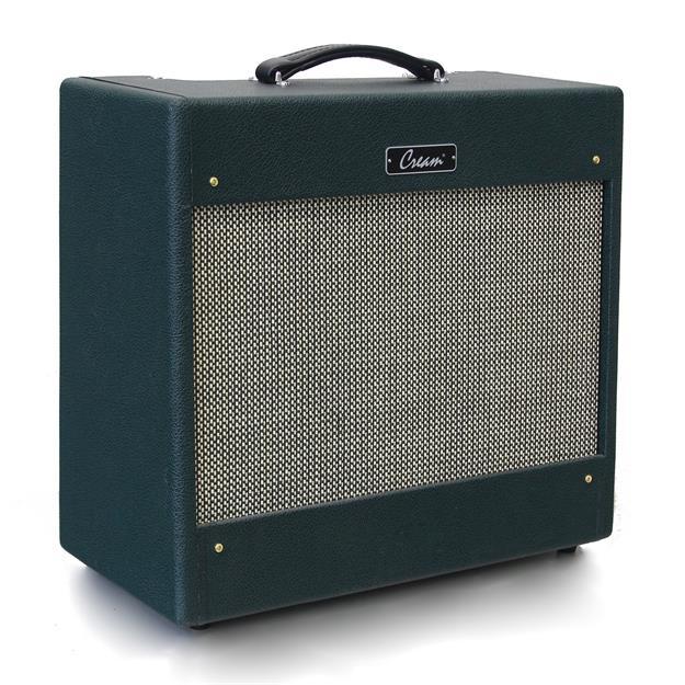 Cream Tweed-Sound 21, Green Tolex