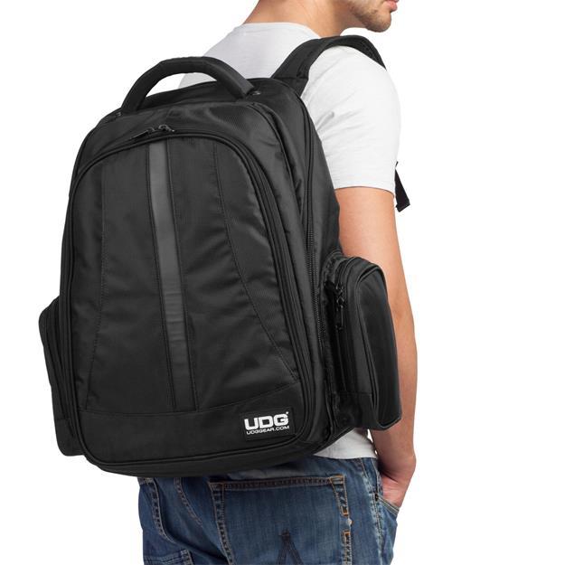 Ultimate Dj Gear BackPack Black/Orange U9102BL/OR