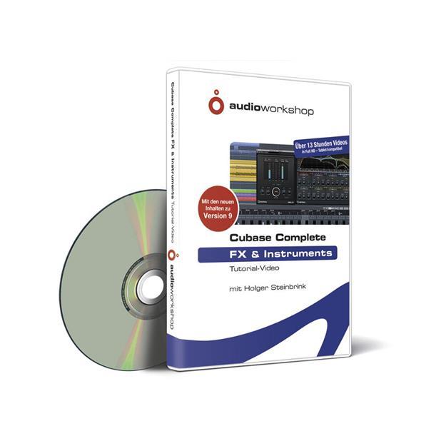 Audioworkshop Cubase Complete - FX und Instruments