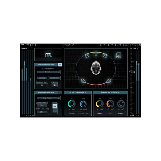 Waves NX - Virtual Mix Room over Headphones
