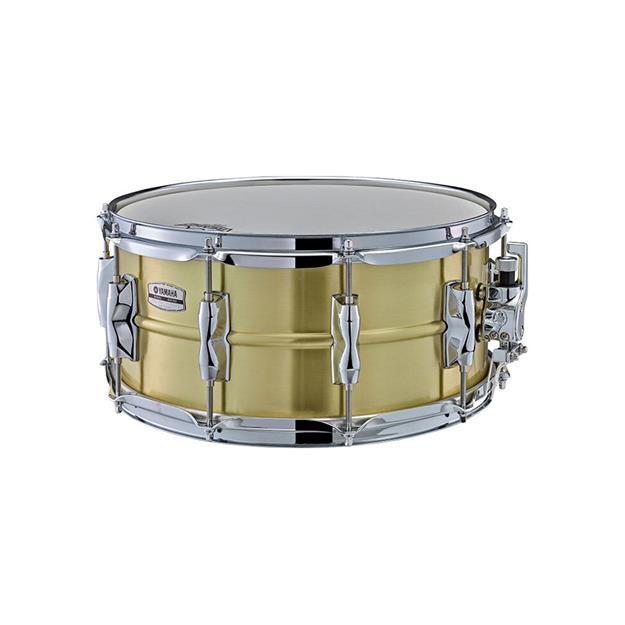 "Yamaha Recording Custom Brass Snare 14""x 6 1/2"""