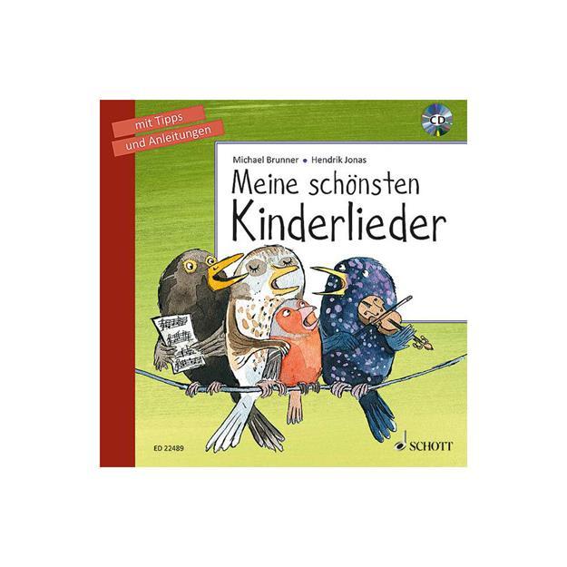 Schott Verlag Meine schönsten Kinderlieder mit CD