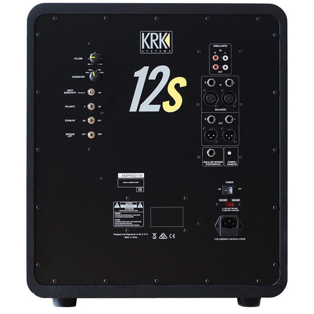 KRK 12S2 Subwoofer 3. Generation