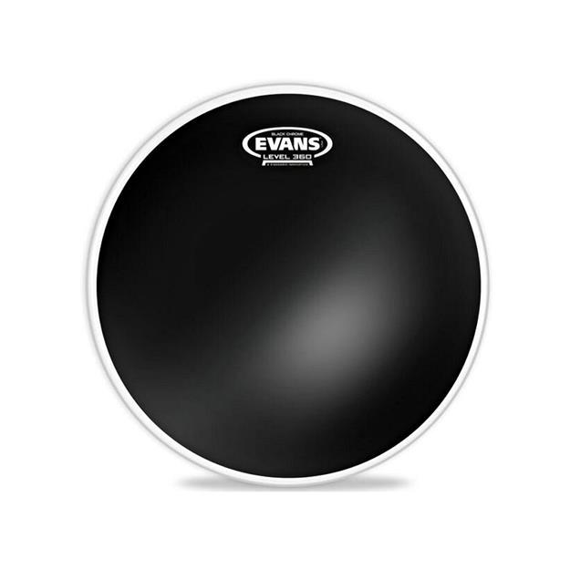 Evans Black Chrome 18'' - Tomfell - 2-lagig
