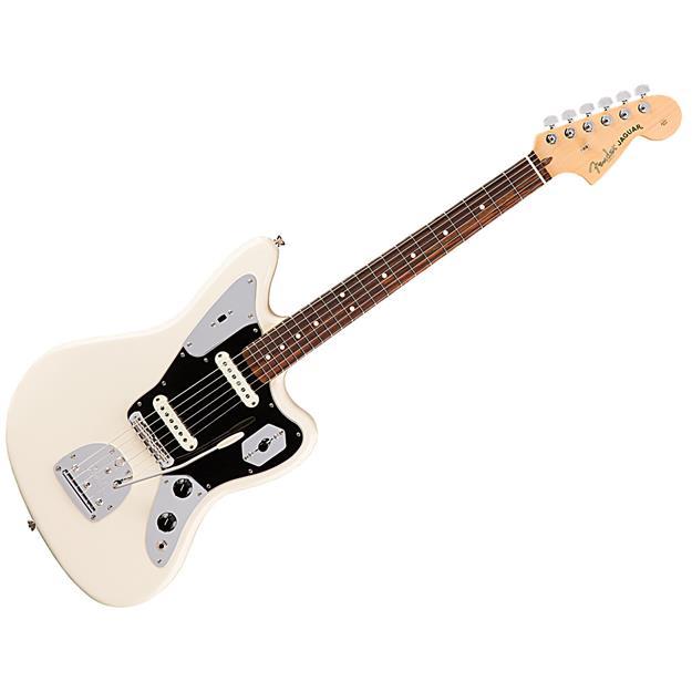 Fender American Pro Jaguar, RW Olympic White