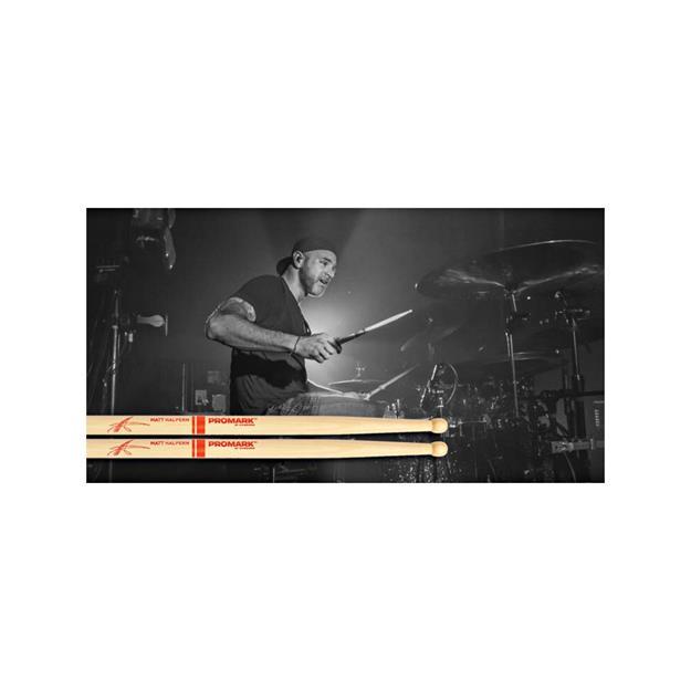Promark Matt Halpern Signature -Hickory - Holz Tip