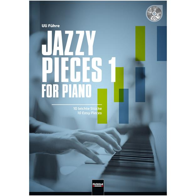 Helbling Jazzy Pieces 1 for Piano mit CD