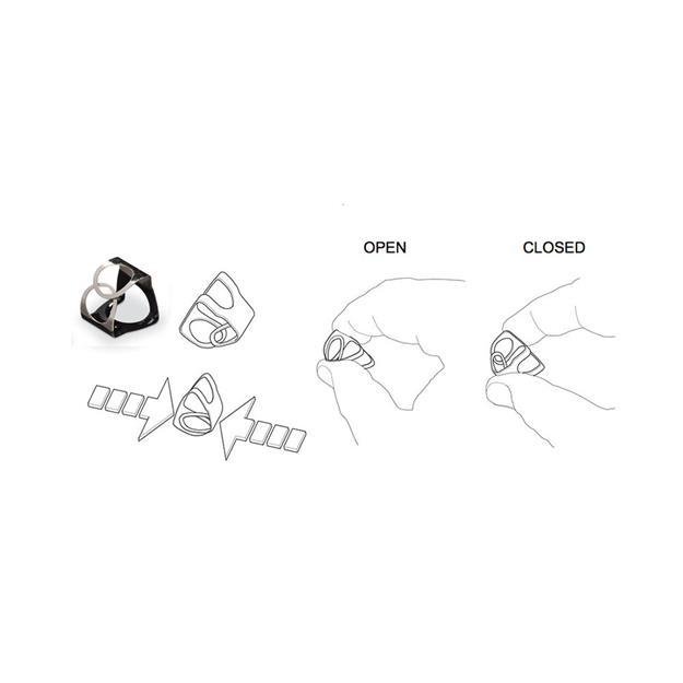 Pinchclip PCB - PinchClips (3er Pack) schwarz
