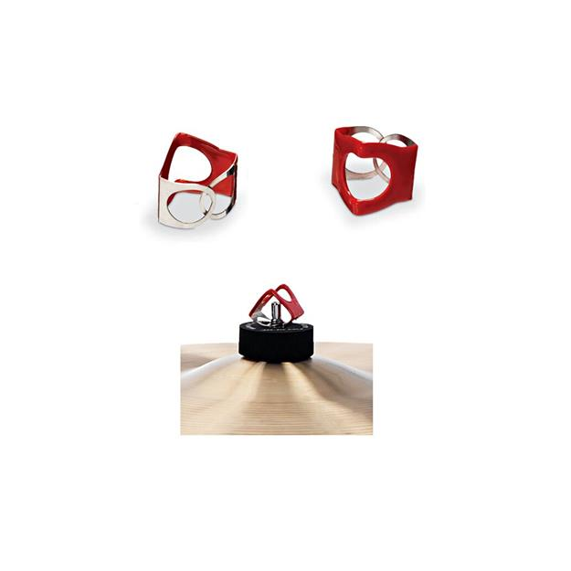 Pinchclip PCR - PinchClips (3er Pack) rot