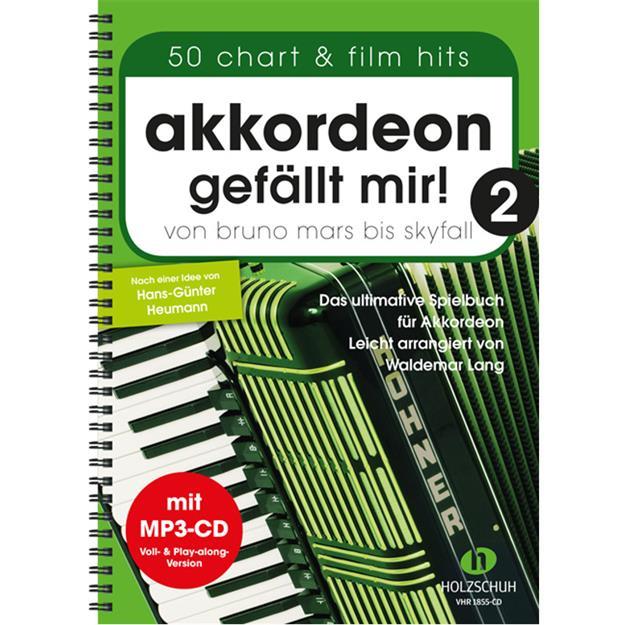 Holzschuh Verlag Akkordeon gefällt mir! Band 2 mit CD