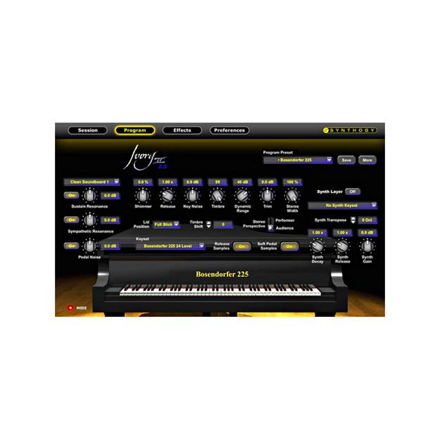 Synthogy Ivory II Studio Grands Lizenzcode