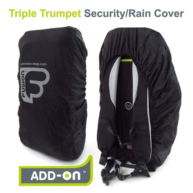 Fusion Bags Triple Trompeten Rain Cover