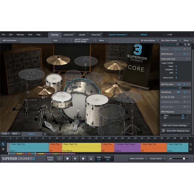 Toontrack Superior Drummer 3.0 Crossgrade Lizenzcode