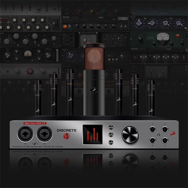 Antelope Audio Discrete 4 mit Premium AFX