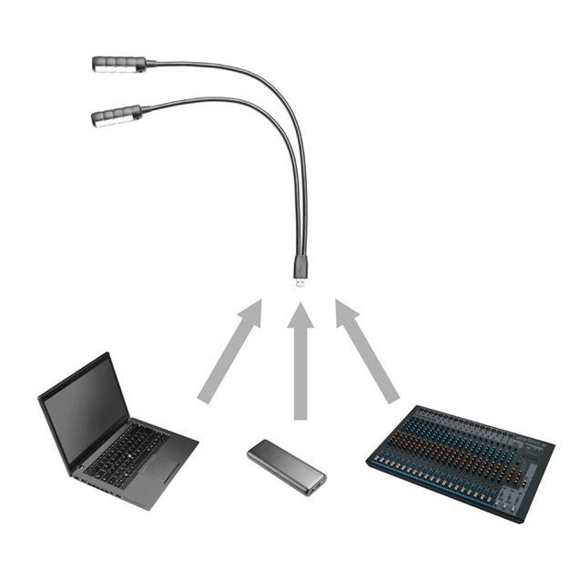 Adam Hall SLED 2 Ultra USB