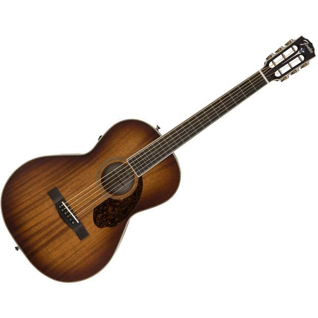 Fender PM-2E Parlor All Mahogany Mahagoni/Mahagoni