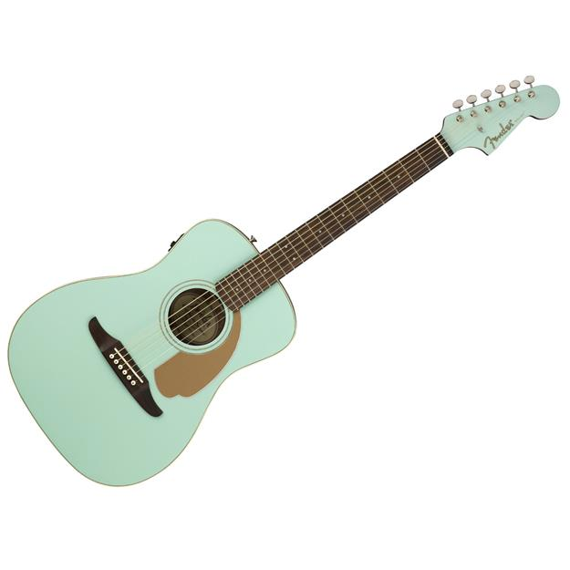 Fender Malibu Player Aqua Splash Fichte/ Mahagoni
