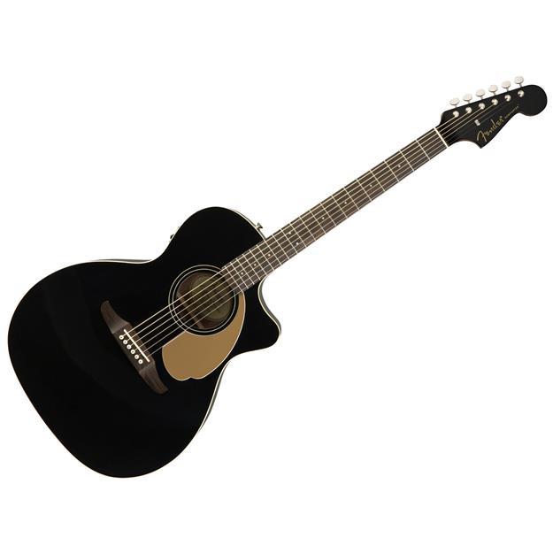 Fender Newporter Player Jetty Black Fichte/ Mahagoni