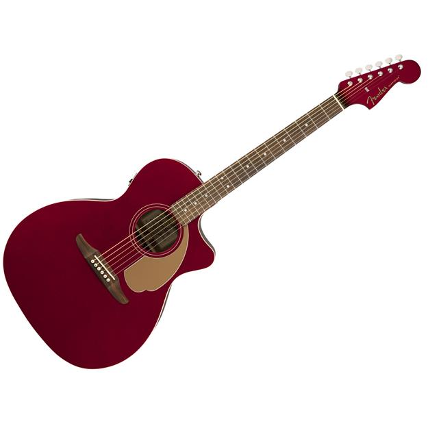 Fender Newporter Player Candy Apple Red Fichte/ Mahagoni