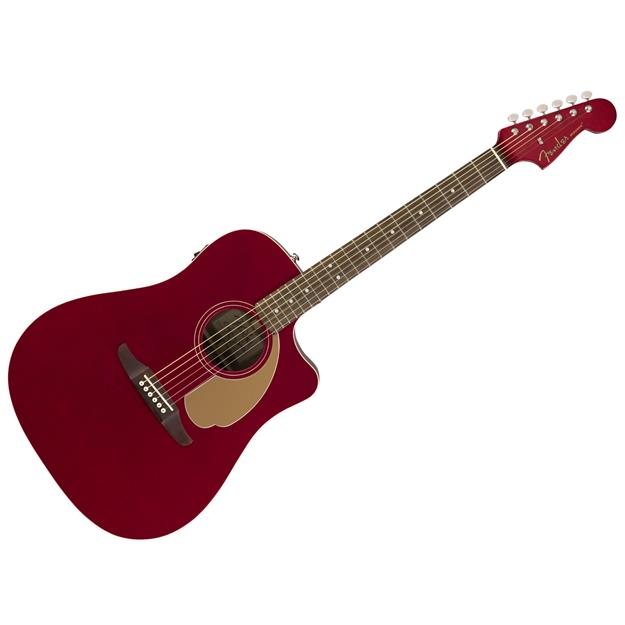 Fender Redondo Player Candy Apple Red Fichte/ Mahagoni