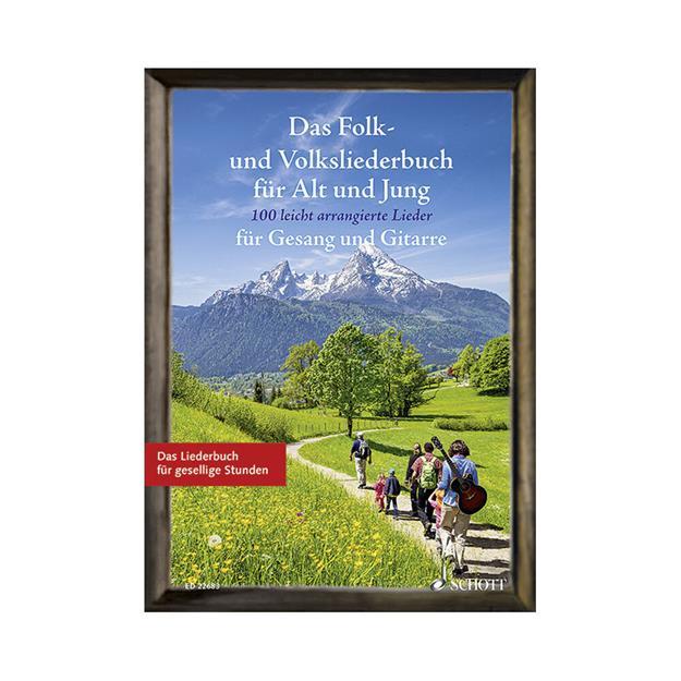 Schott Verlag Das Folk- und Volksliederbuch
