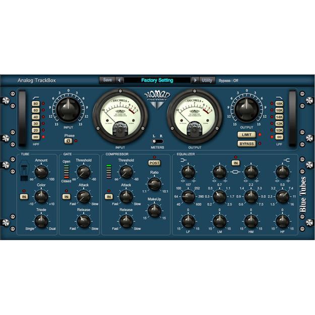 Nomad Factory Blue Tubes Analog TrackBox Lizenzcode