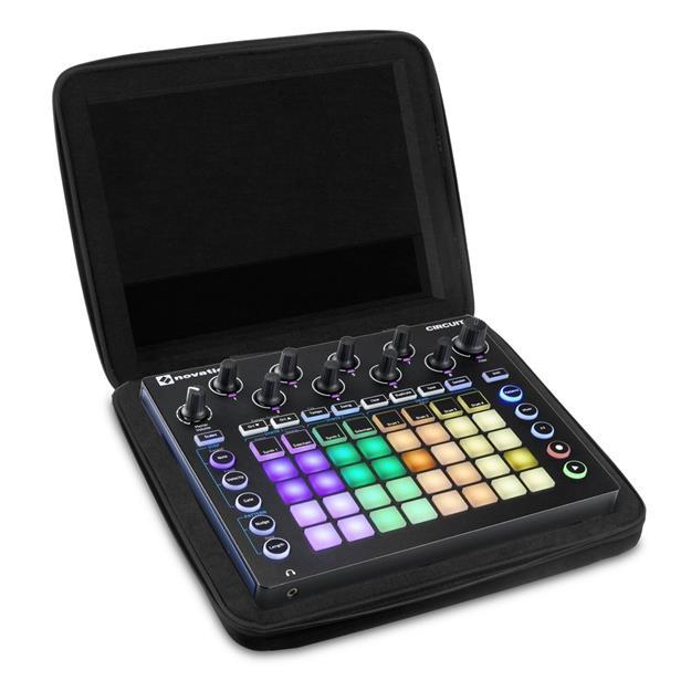 Ultimate Dj Gear Creator Novation Circuit Hardcase Black U8439BL