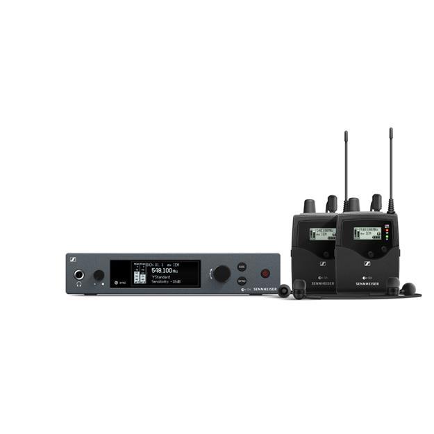 Sennheiser EW IEM G4 Twin A1-Band 470 - 516 MHz